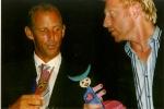 Thomas Muster, Boris Becker-Überreichung b.Grand Slam , Graz